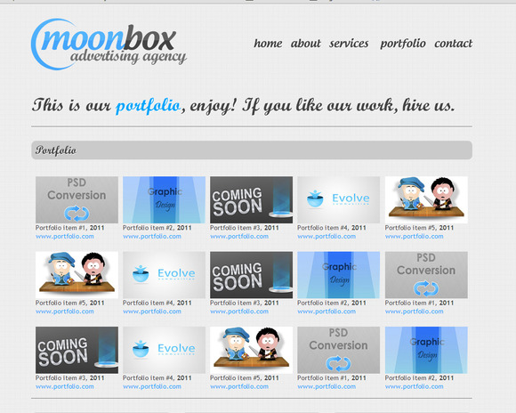 MoonBox Website HTML Template