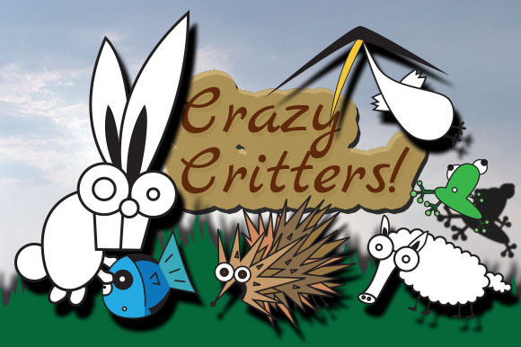 Critters ~Vector~ Ai Eps Svg