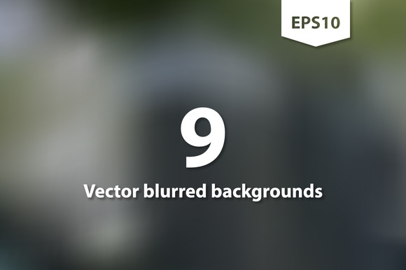 Vector Blurred Square Backgrounds II