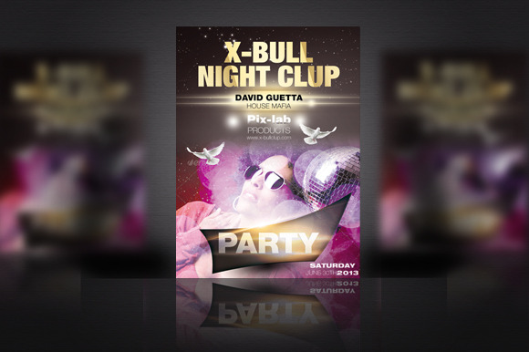 Clup Party Flyer