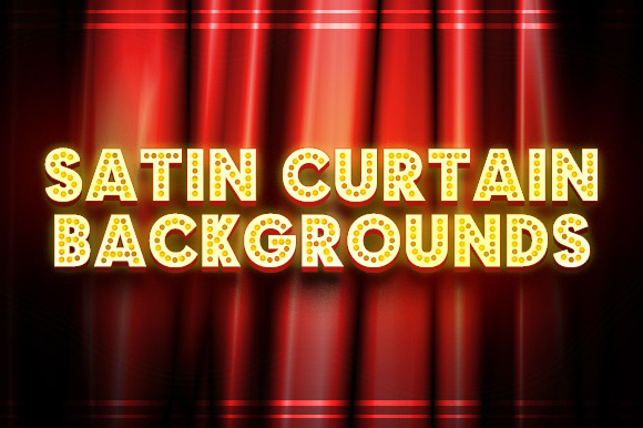 Satin Curtain Backgrounds