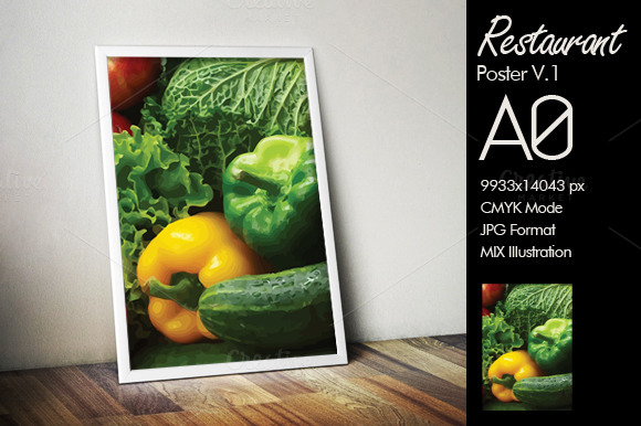 Restaurant Poster A0 V.1