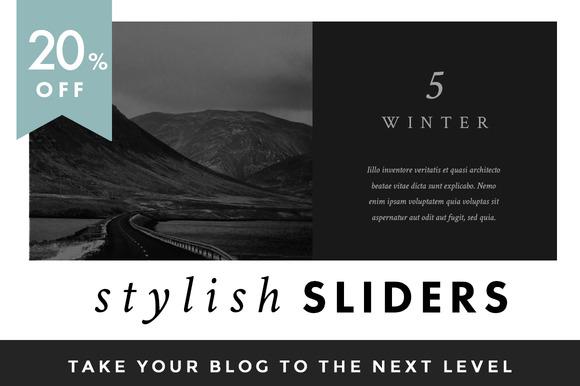 Stylish Sliders