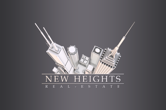 3D Real Estate Logo
