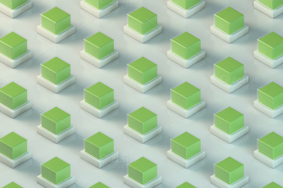 Energy Cubes Green