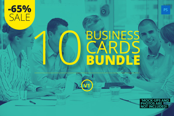 10 Business Cards Bundle V1