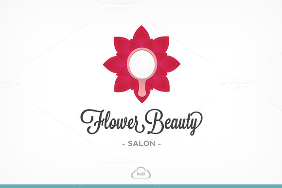 Flower Beauty Logo Template