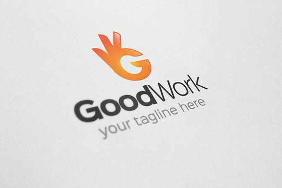 Good Work Hand Logo
