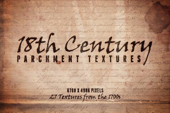 18th Century Parchment Textures 1