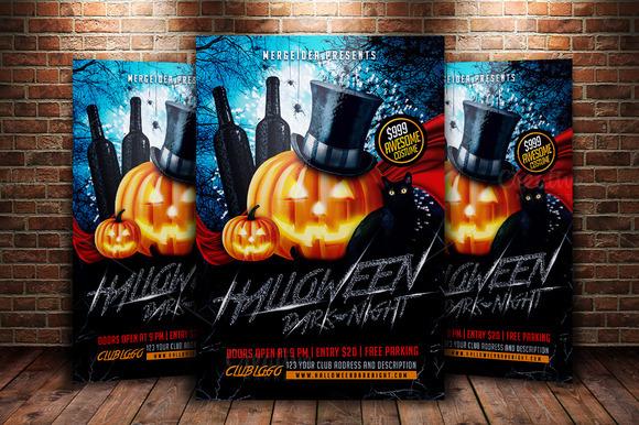 Halloween Dark Night Flyer