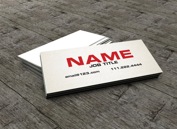The Slim Business Card Calling Card