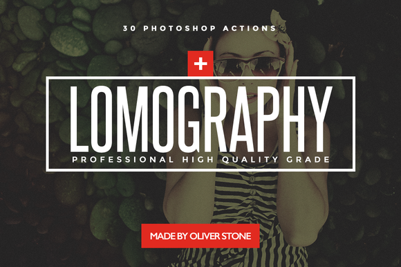 Lomography 30 FX Actions For PS