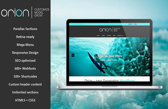 Orion Responsive WordPress Theme