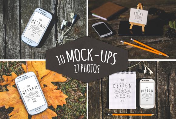 37 Pieces 10 Mock-Ups 27 Photos
