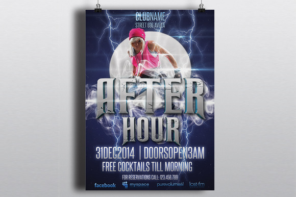 After Hour Party Flyer