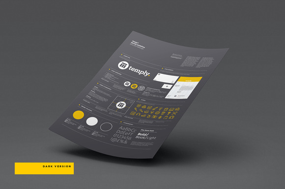 Free brand guideline templates indesign designtube for Free brand guidelines template