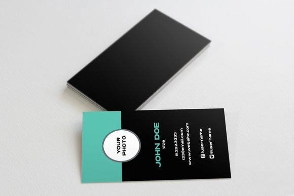 The Profile Business Card Template