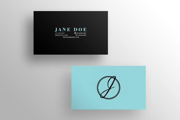 The LBR Business Card Template