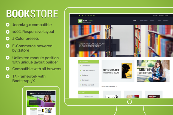 TP Bookstore Ecommerce Template