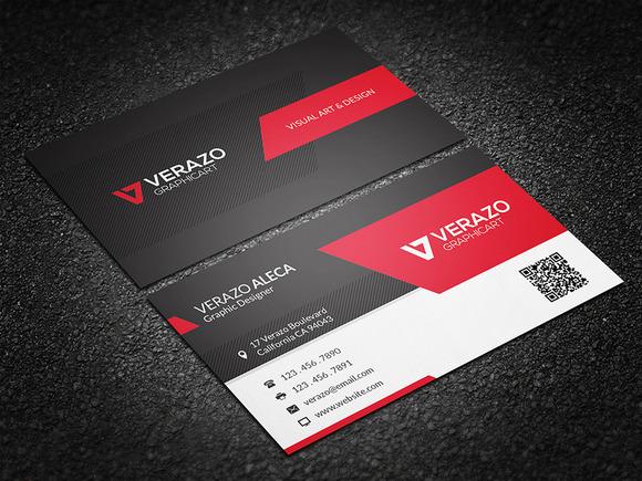 Modern Stylish Business Card