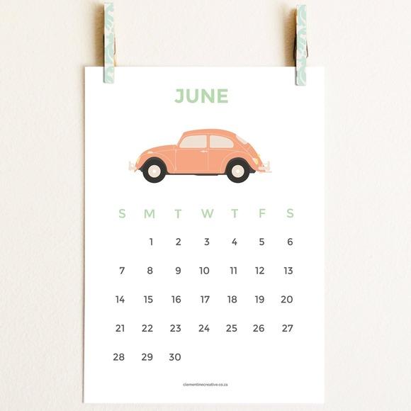 Cute Printable 2015 Calendar
