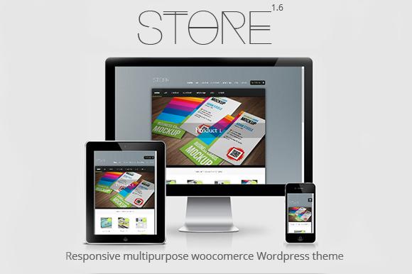 Store Responsive Woocommerce Theme