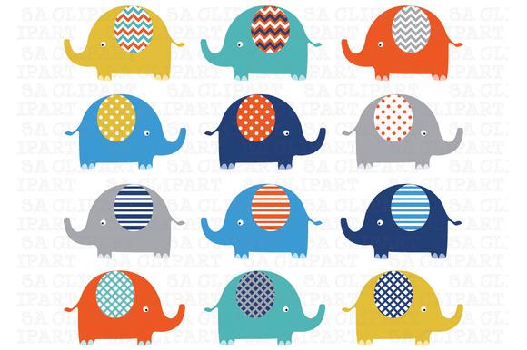 Elephants Clip Art