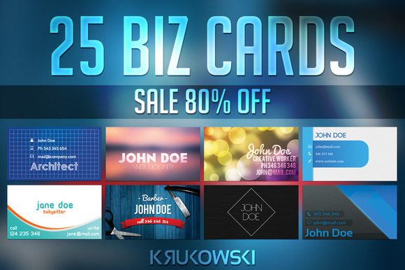 Business Card Templates Bundle