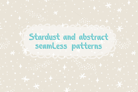 Stardust Seamless Patterns Collectio