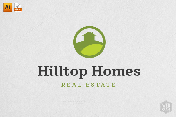 Hilltop Homes Real Estate Logo