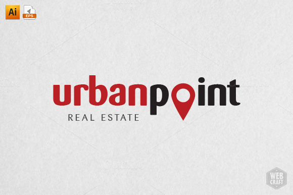 Urban Point Logo Template