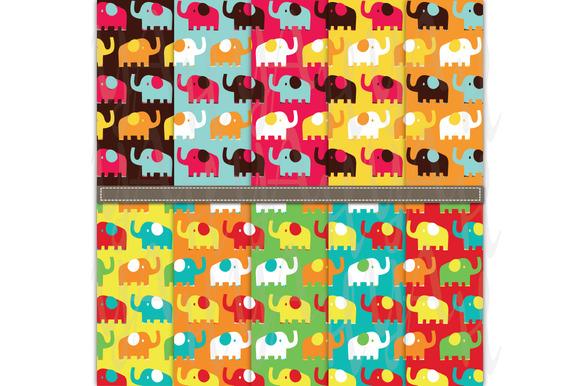 Animal Digital Papers Pack