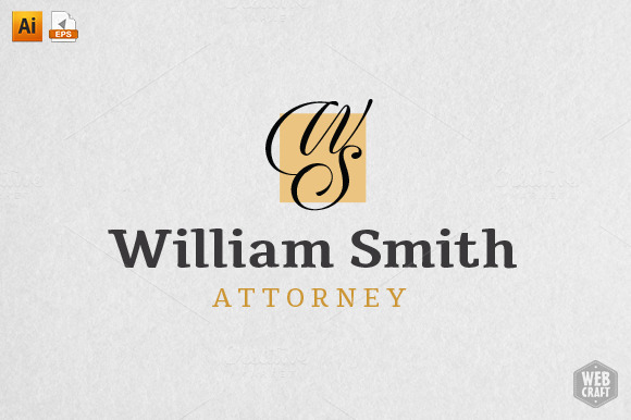 William Smith Attorney Legal Logo