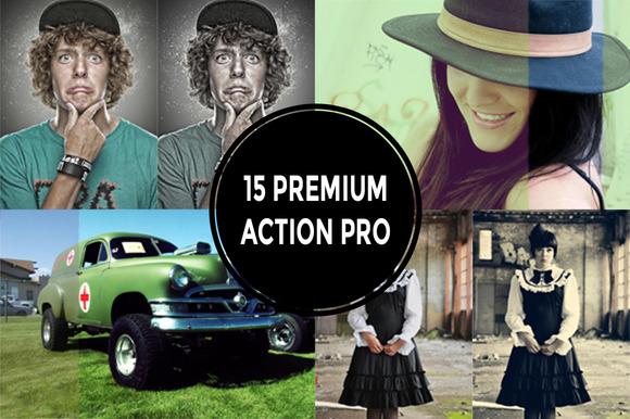 15 Premium Action Pro