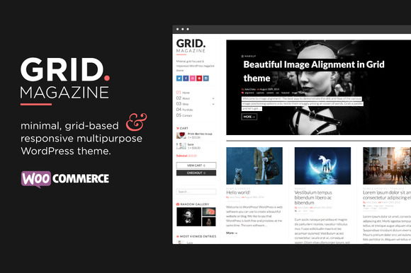 GRID WordPress Magazine Shop