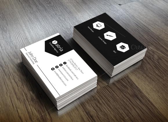 Satria Business Card Template
