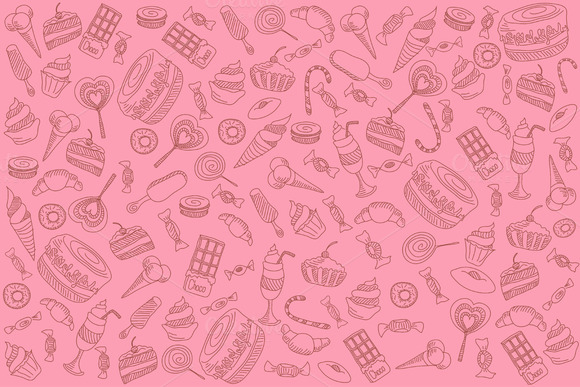 Sweets On Pink