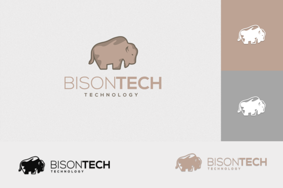 Bison Tech Logo