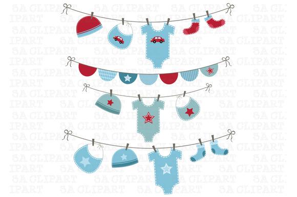 Baby Boy Shower Clipart