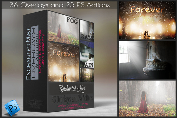 Enchanted Mist Actions Overlays