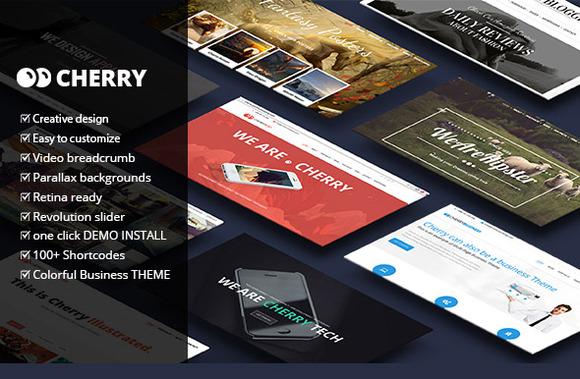 Cherry Multipurpose Wordpress Theme