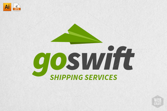 Go Swift Shipping Logo Template