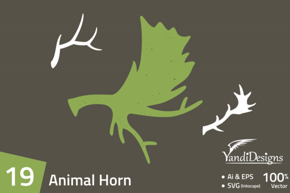 19 Animal Horn Element Pack