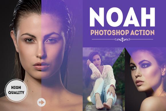 Noah Photoshop Action