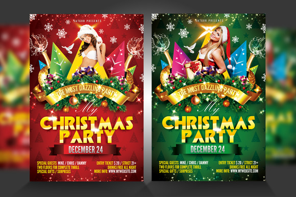 Christma Xmas Flyer