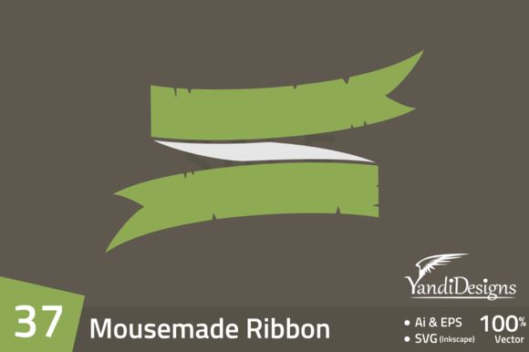 37 Mouse Made Ribbon Banner