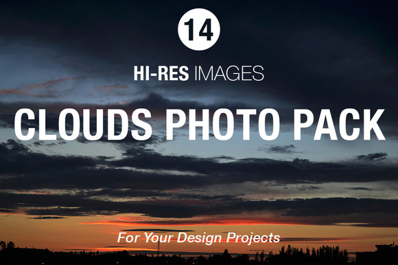 Clouds Photo Pack
