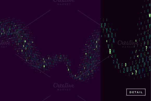 Abstract Code Background