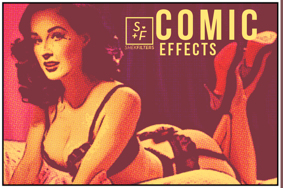 Comic Cartoon Photoshop Effects