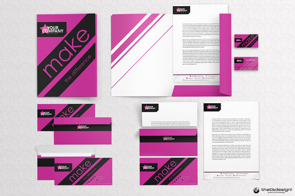 Event Artistic Corporate Identity